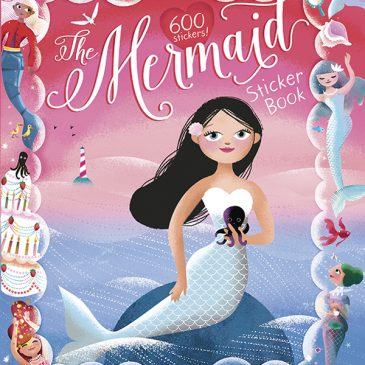 The Mermaid Sticker book is here!
