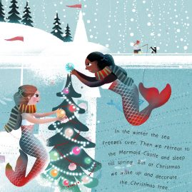 Mermaids' christmas