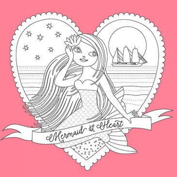 Valentine Mermaid TWITTER