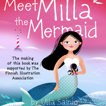 Meet Milla the Mermaid as an Amazon Kindle eBook