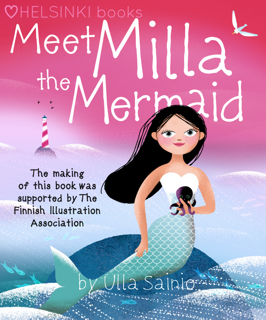 Meet Milla the Mermaid kindle cover